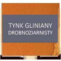 gliniany tynk drobnoziarnisty