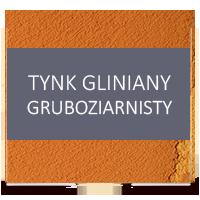 gliniany tynk gruboziarnisty