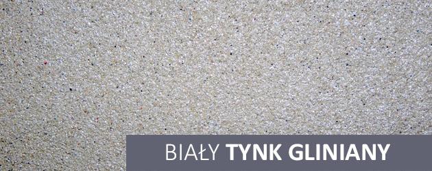 tynk gliniany bialy
