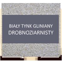 tynk gliniany drobnoziarnisty bialy